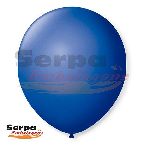 Balão n°7 Azul Cobalto - Pacote com 50 unidades