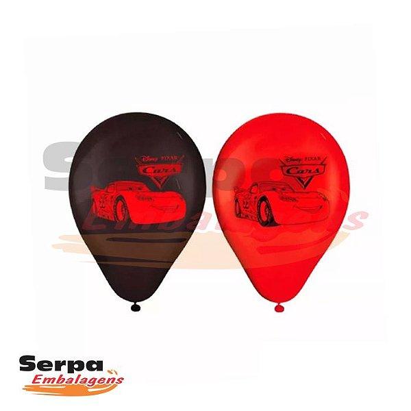 Balão n°9 Carros - Pacote com 25 unidades
