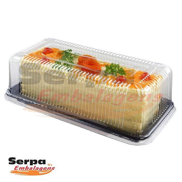 Embalagem para Torta e Bolo Retangular Pequeno NP 65