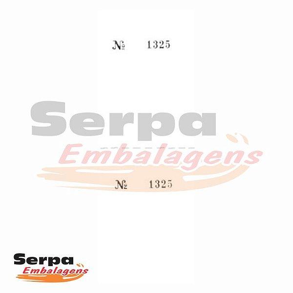 Controle 2 Corpos - Numerados - 100 folhas - 140x50mm