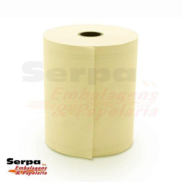 Bobina para Cupom Fiscal 76x40 1 Via Amarela KPH 55G - MAXPRINT