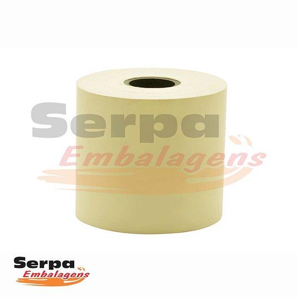 Bobina para Cupom Fiscal 57x40 1 Via Amarela R-27 T12 - REGISPEL