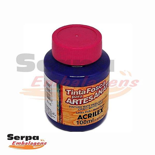 Tinta Fosca para Artesanato 100ml - VIOLETA