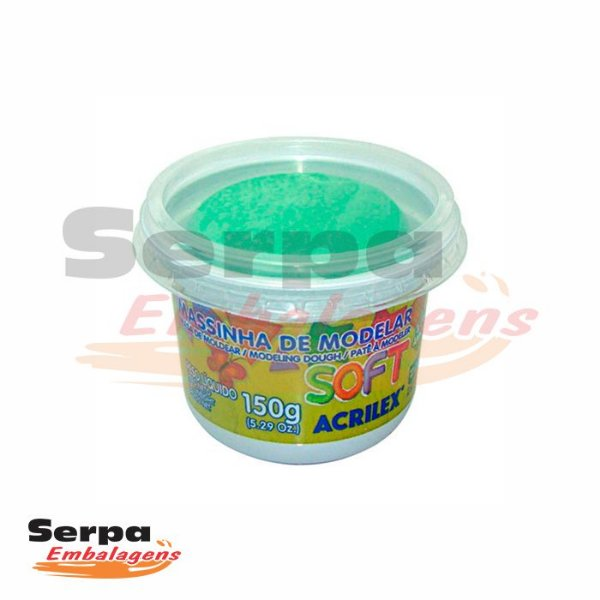 Massinha de Modelar Soft - 150gr VERDE