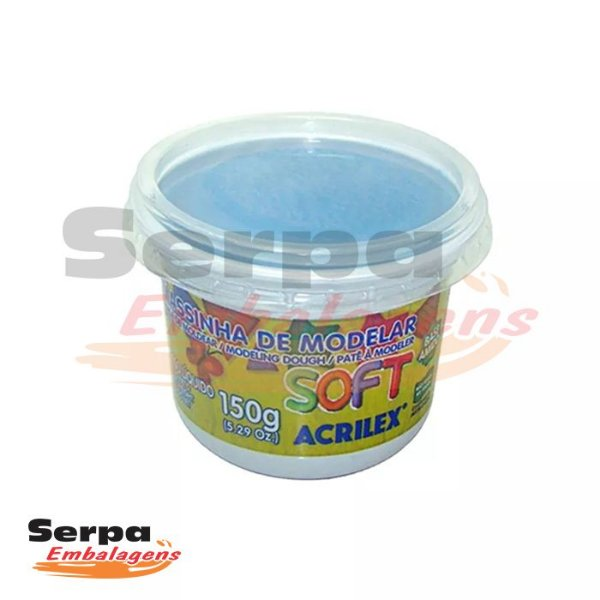 Massinha de Modelar Soft - 150gr AZUL