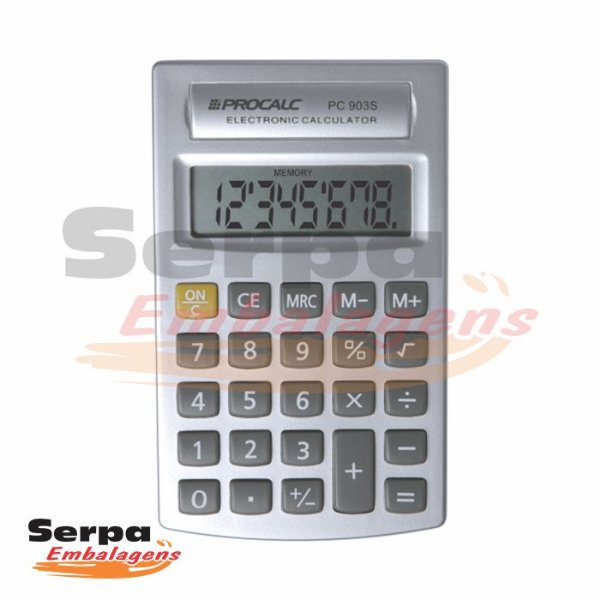 Calculadora Pessoal de Bolso 8 Dígitos