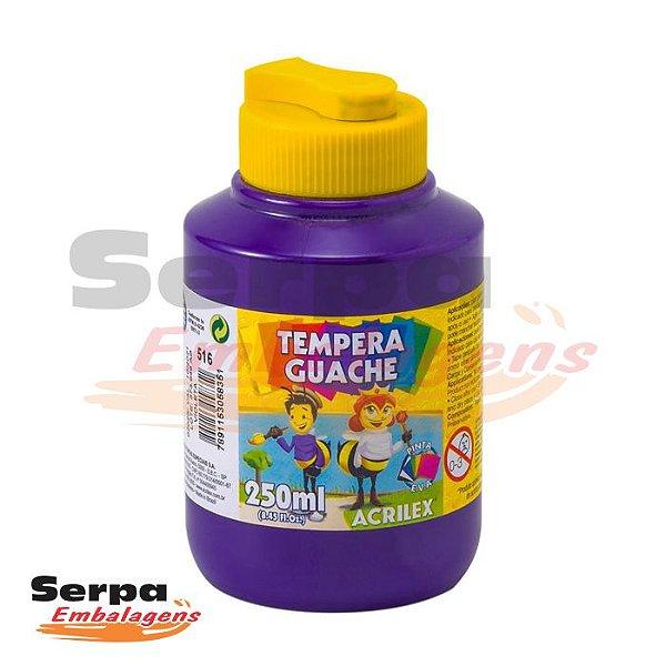 Tinta Guache 250ml Violeta