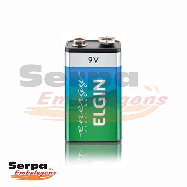 Bateria Alcalina 9V L22F6A - Elgin