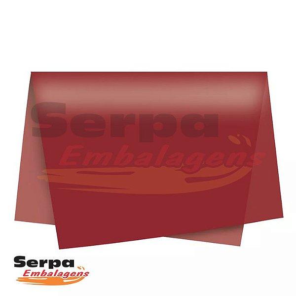Papel Seda Marsala 48x60 cm - Pacote com 100 unidades