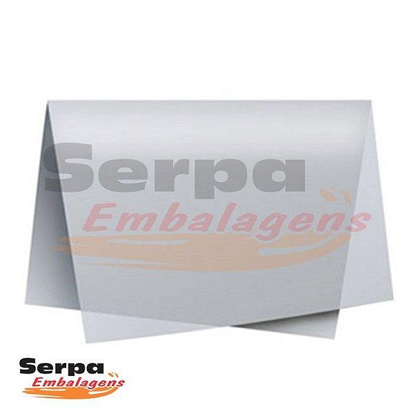 Papel Seda Prata 48x60 cm - Pacote com 20 unidades