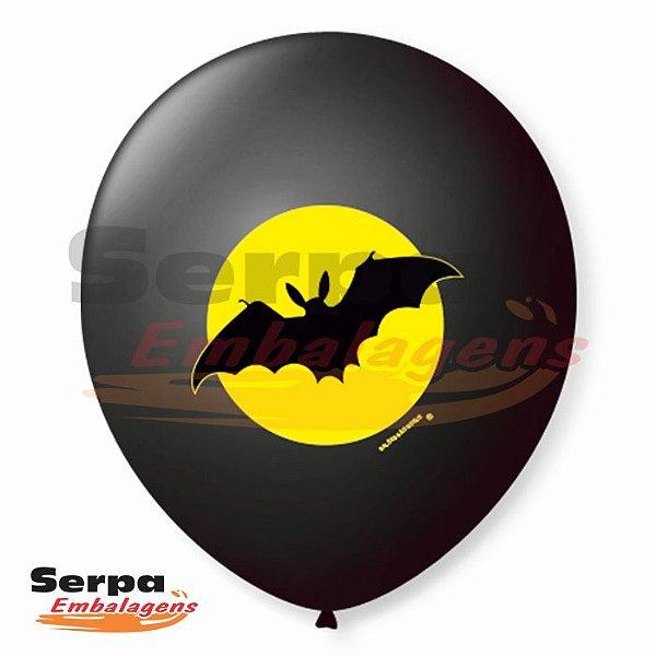 Balão n°9 Morcego - Pacote com 25 unidades