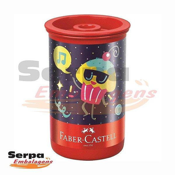 Apontador com Depósito Tubo Candy Party Tubo - Faber-Castell