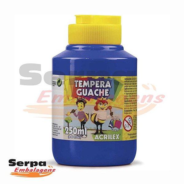 Tinta Guache 250ml Azul