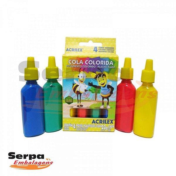 COLA COLORIDA 4 CORES 23G