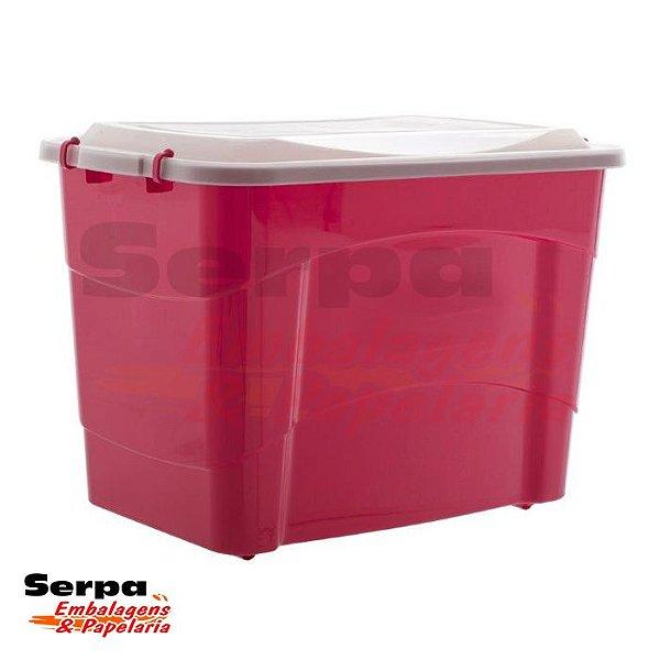 Caixa Organizadora Plástica Pratic Box 150 Litros COLORS
