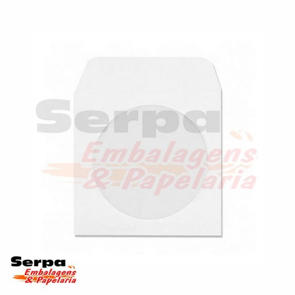 Envelope para CD 126 x 126mm - Branco