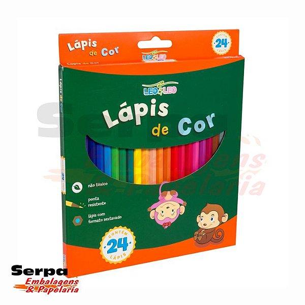 Lápis de Cor com 24 cores