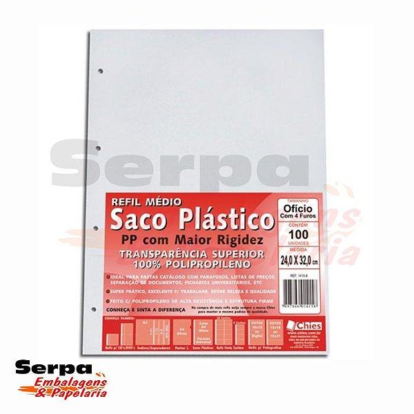 Saco Plástico Multi-Uso PP 4 Furos - c/ 100 unidades