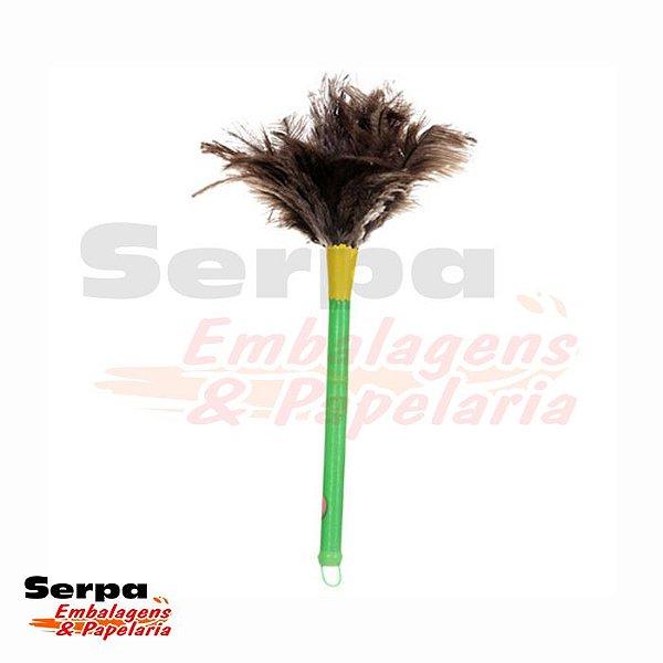 Espanador de Penas de Avestruz 35 cm