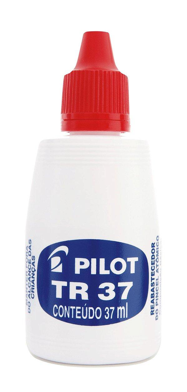 Tinta Reabastecedora para Pincel Atômico 37ml - VERMELHO TR 37