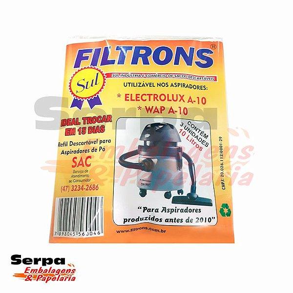 Refil para Aspirador de Pó Electrolux A10