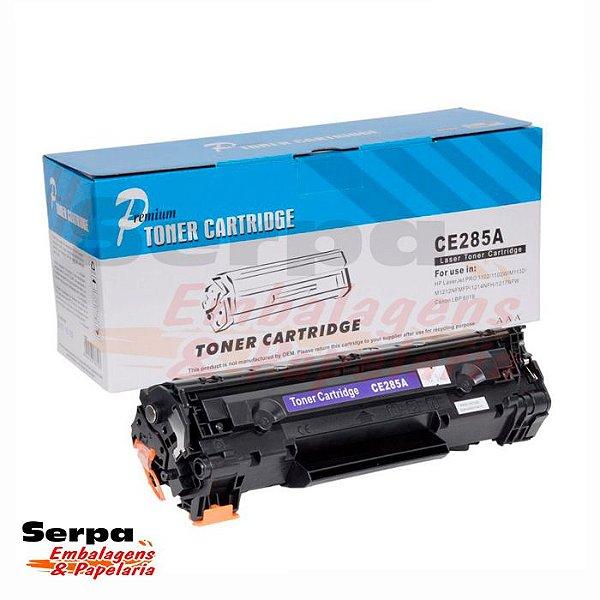 Toner Compatível HP CE 285A - Impressoras P1102  M1130 M1132  M1212