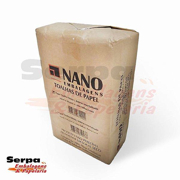 Papel Toalha Interfolha Nano LUXO - 1000 folhas