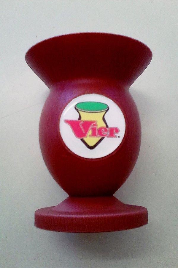 Cuia PVC com pezinho Marrom