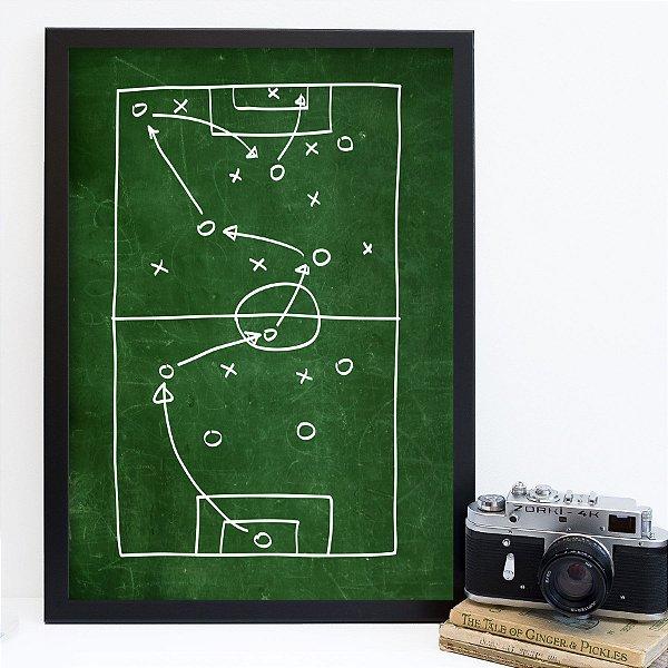 Quadro campo de futebol FF024
