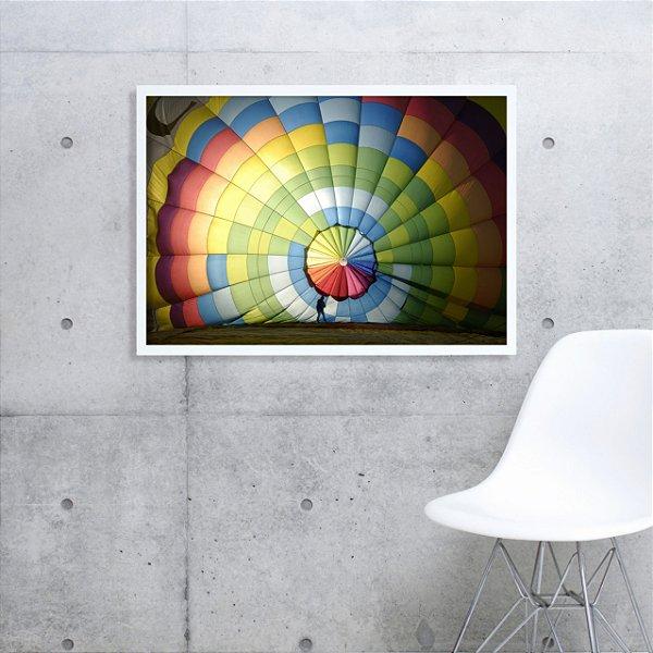 Quadro balonismo FF035