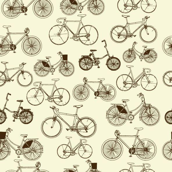 Papel de parede bicicleta FP018