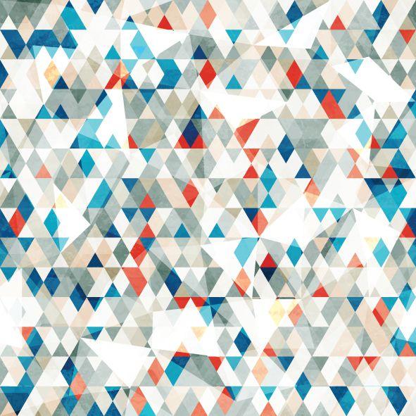 Papel de parede triangulo FP011
