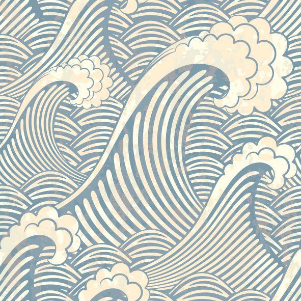 Papel de parede ondas FP034