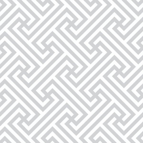 Papel de parede labirinto cinza fp459