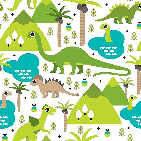Papel de parede dinossauros fp486