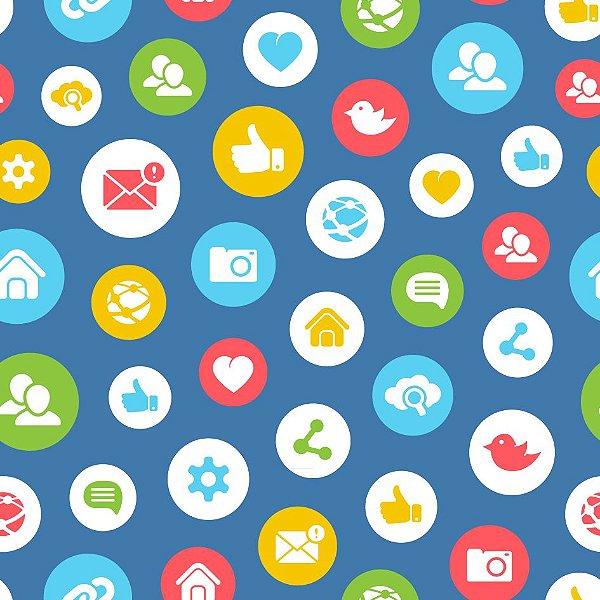 Papel de parede redes sociais fp551