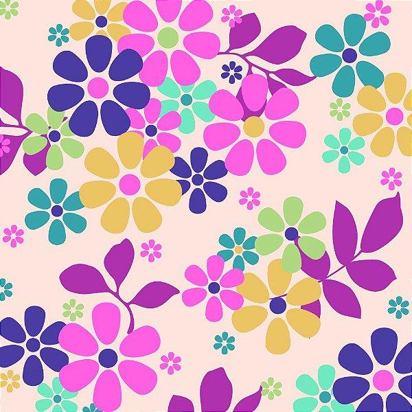 Papel de parede flores fp602