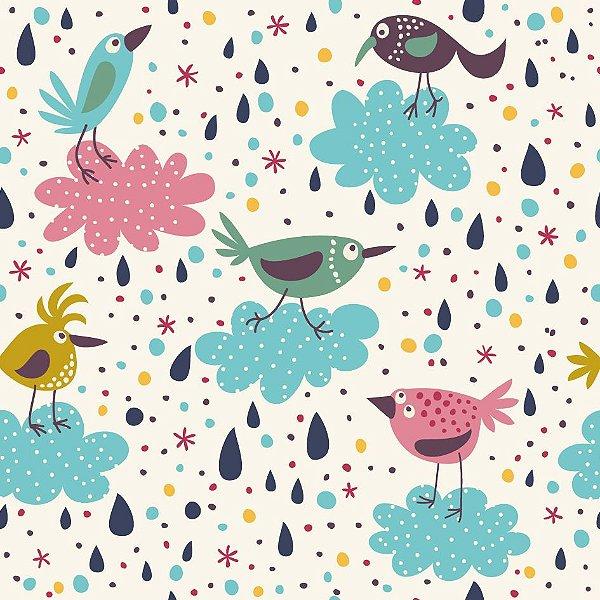 Papel de parede pássaros fp564