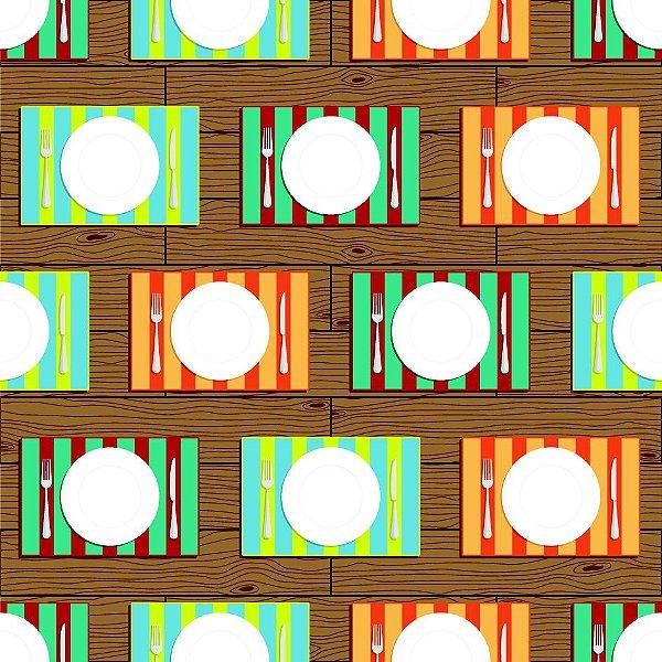 Papel de parede pratos  fp598