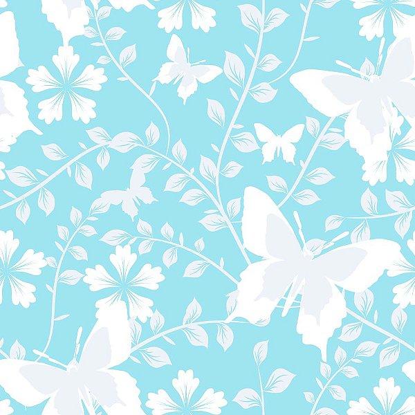 Papel de parede floral fp705