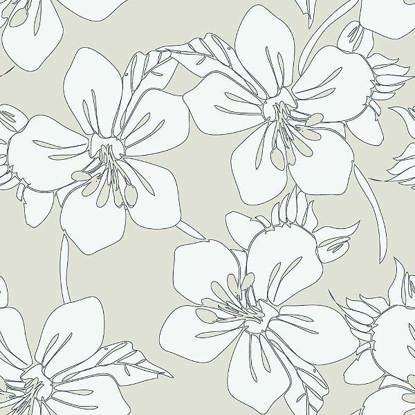 Papel de parede floral fp724