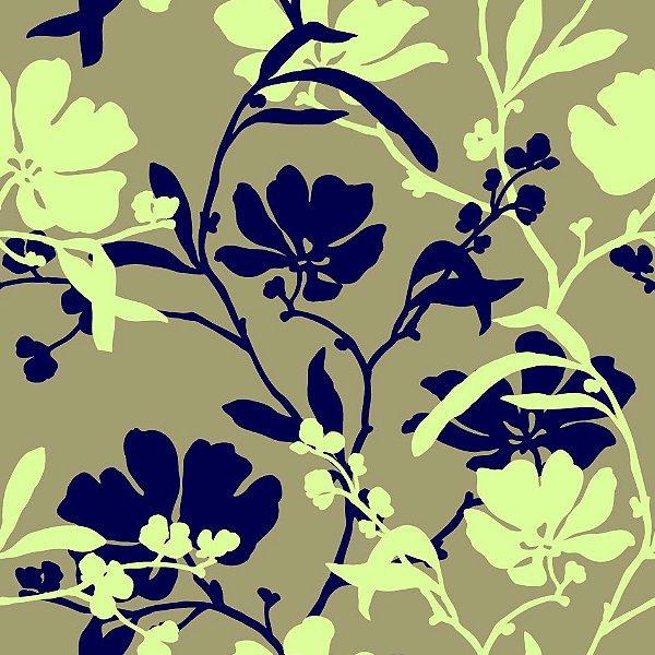 Papel de parede flores  fp613