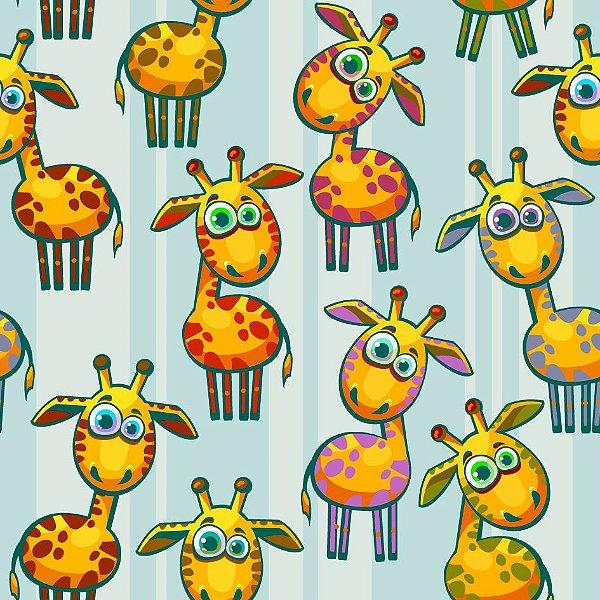 Papel de parede girafas fp711