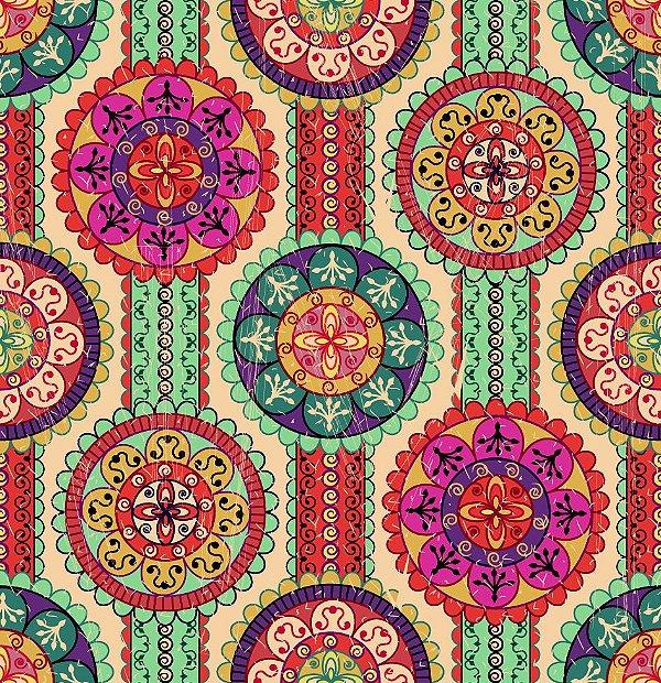 Papel de parede mosaico fp611
