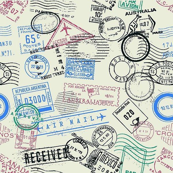 Papel de parede passaporte fp670
