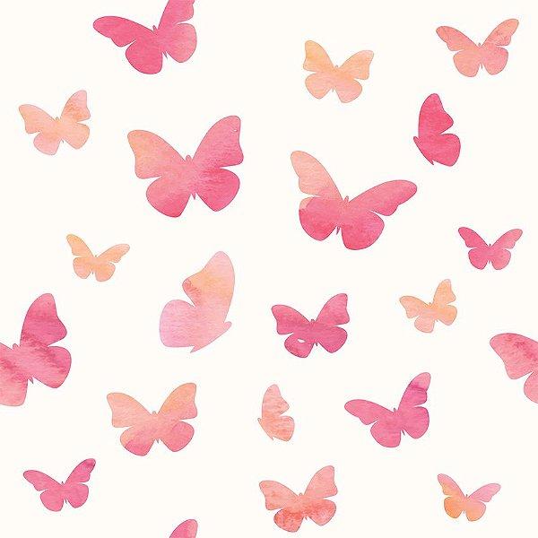 Papel de parede borboletas fp104