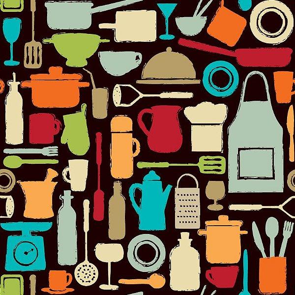 Papel de parede cozinha fp411