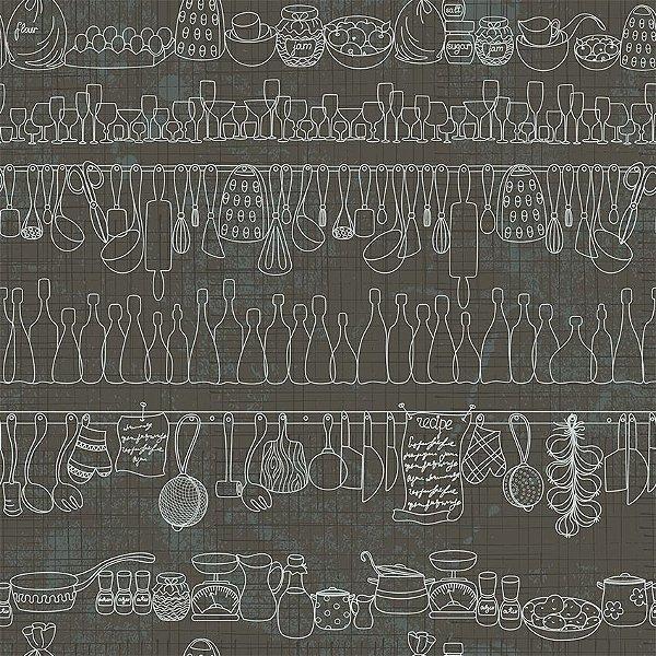Papel de parede cozinha perfeita fp153