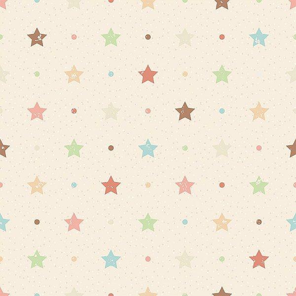 Papel de parede estrelas e pontos fp096