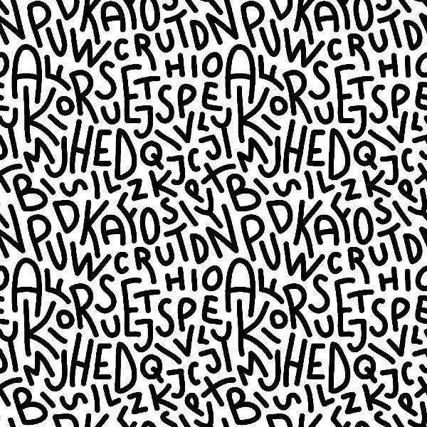 Papel de parede alfabeto fp1088